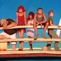 End of summer Art Prints & Posters by Marcin Jakubowski