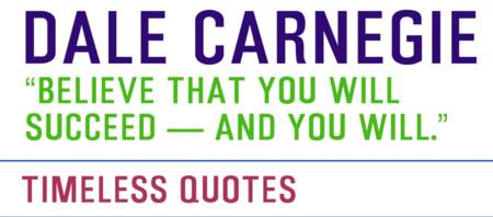 Motivational Quotes - DALE-CARNEGIE
