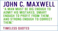Motivational Quotes - JOHN-C-MAXWELL