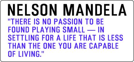 Motivational Quotes - NELSON-MANDELA