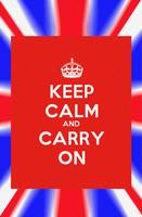 Keep Calm and Carry on Poster v2