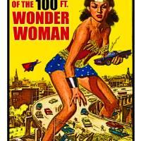 Attack of the 100 foot Wonder Woman Art Prints & Posters by David Caldevilla