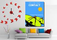 Contact Minimalist Movie Poster decor