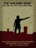 The Walking Dead Minimalist Movie Poster thumb
