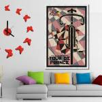 """Tour De France 2015 Minimalist Poster 3 decor"" by motionage"