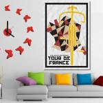 """Tour De France 2015 Minimalist Poster 4 decor"" by motionage"