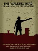 The Walking Dead Minimalist Movie Poster v2