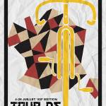 """Tour De France 2015 Minimalist Poster 4 sml"" by motionage"