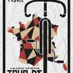 """Tour De France 2015 Minimalist Poster thumb"" by motionage"