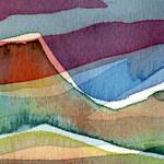 """""""""""Old Volcano"""" #1 11 17 07"""" by achimkrasenbrinkart"""
