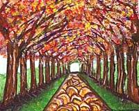 Path of the Autumn Trees