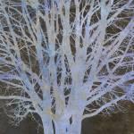 """Bare Blue Tree"" by CoraNiele"
