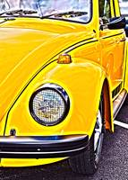 Yellow VW Beetle Volkswagen