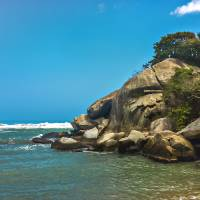 Tropical Beach of Tayrona National Park Edited Art Prints & Posters by Daniel Ferreira-Leites