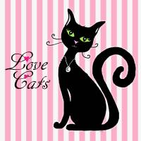 Love Cats Art Prints & Posters by Paintings by gretzky