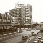"""Town of Singapore, Jurong, black/white"" by sghomedeco"