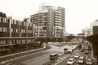 Town of Singapore, Jurong, black/white