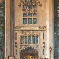 Cobb Hall, UChicago Art Prints & Posters by Leon Sarantos