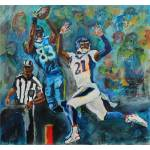 """Touchdown Reception"" by DavidNoahGiles"