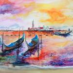 """Venice Italy Gondola Ride"" by GinetteCallaway"