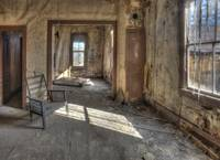Abandoned Bodie Living Room