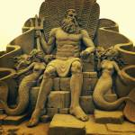 """King Neptune sandsculpture"" by rijmar"
