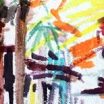"""Pink Car under Palms in Charleston"" by GinetteCallaway"