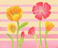 Flower Painting For Baby Room II