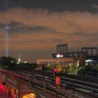WTC Lights and Citi Field Art Prints & Posters by Darren Meenan