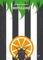 No531 My Beetlejuice minimal movie poster