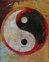 Yin Yang Red Dragon