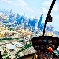 Helicopter Over Chicago