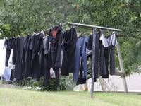Amish laundry day