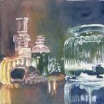 """Still Life Glass Pour"" by mordemed"