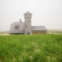 Old Harbor Lifesaving Station Art Prints & Posters by Christopher Seufert