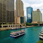 """""""Chicago River from DuSable Bridge"""" by robertmeyerslussier"""