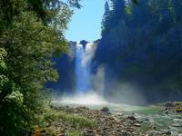 From The Bottom Of Snoqualmie Falls
