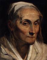 Portrait of old woman - Guido Reni