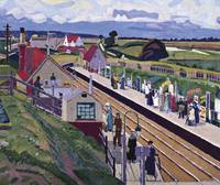 Spencer Gore 'Letchworth Station' 1912