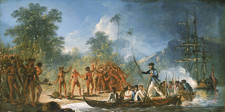 The Landing at Tana one of the New Hebrides, by Wi