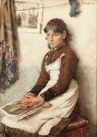Walter Langley - A Daydream 1884