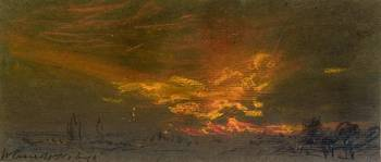William Ascroft, Fire in the sky