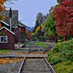 """Issaquah Train Station"" by Kirtdtisdale"