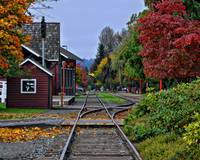 Issaquah Train Station