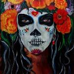 """Catrina of the Marigolds"" by KristofCorvinus"