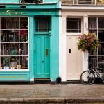 """Portobello Road Shops"" by raetucker"