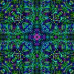 """Magical Maize Mandala Mosaic"" by richardhjones"