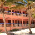 """Old Hotel on the beach, Riviera Maya, Mexico"" by RoupenBaker"