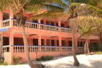 Old Hotel on the beach, Riviera Maya, Mexico