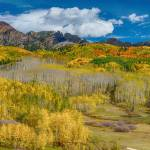 """Kebler Pass Autumn Season Panorama"" by lightningman"